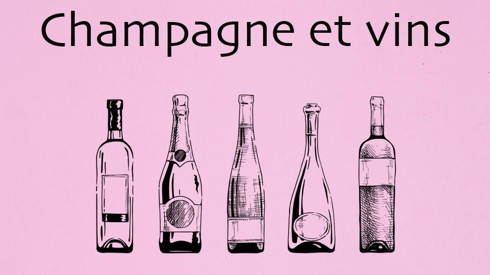 Champagne vins et spiritueux